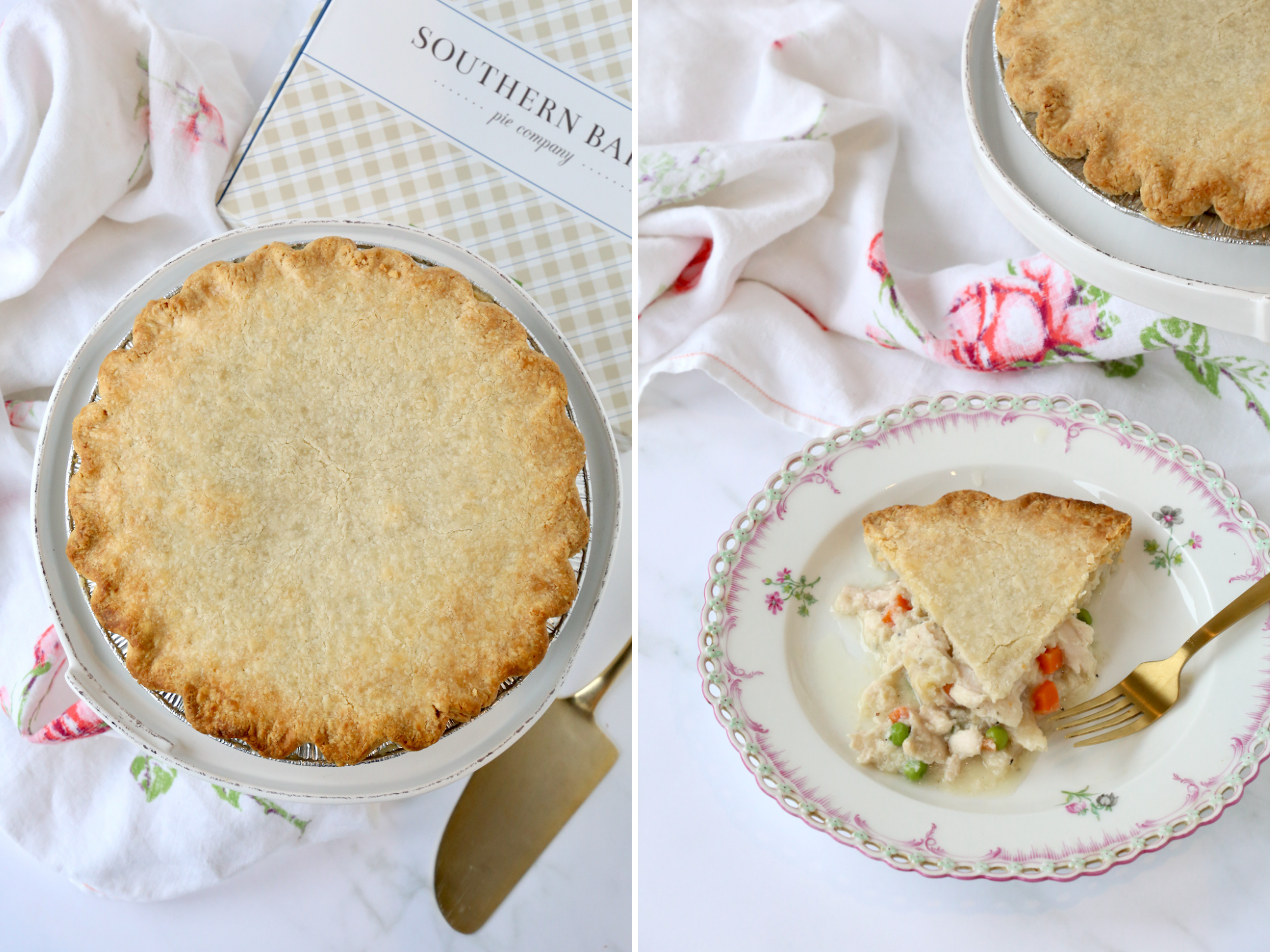 Southern Baked Chicken Pot Pie