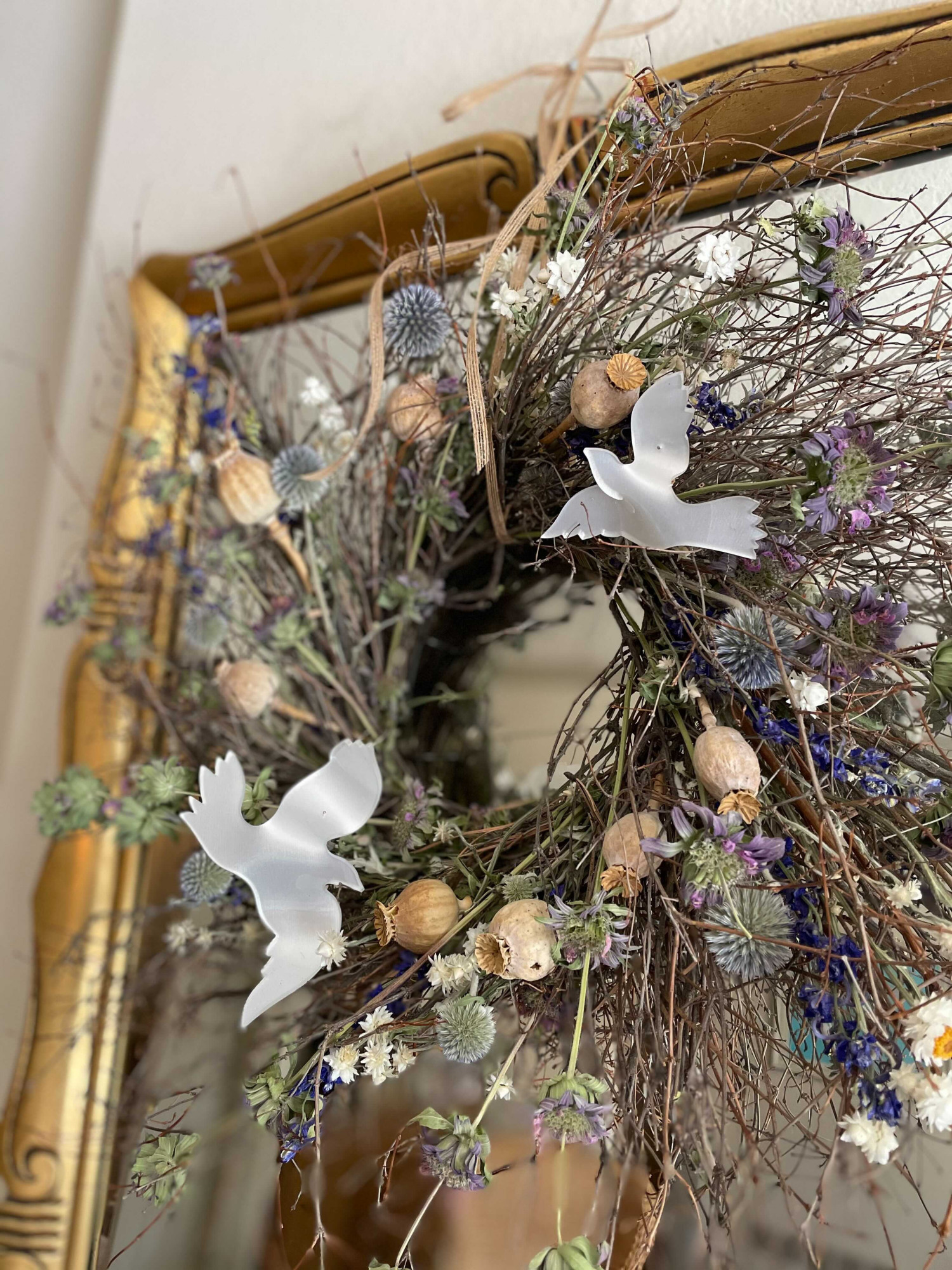 acrylic dove